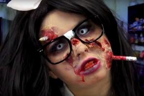 Halloween Makeup Ideas for Glasses Wearers