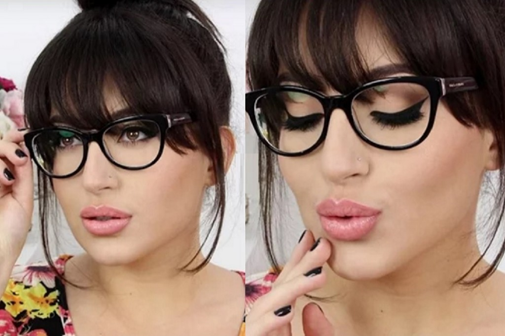 Winter Eye Makeup For Glasses Wearers Fashion