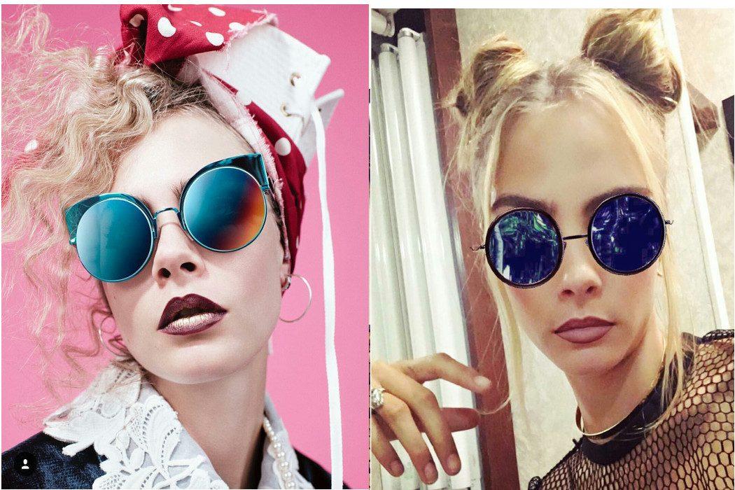 Cara Delevigne sunglasses
