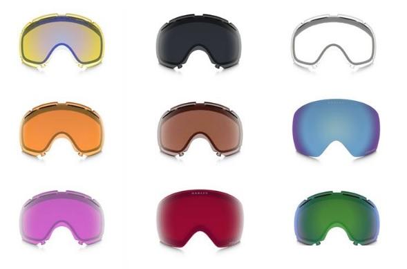 goggle colours