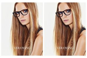 vera wang black glasses 2017