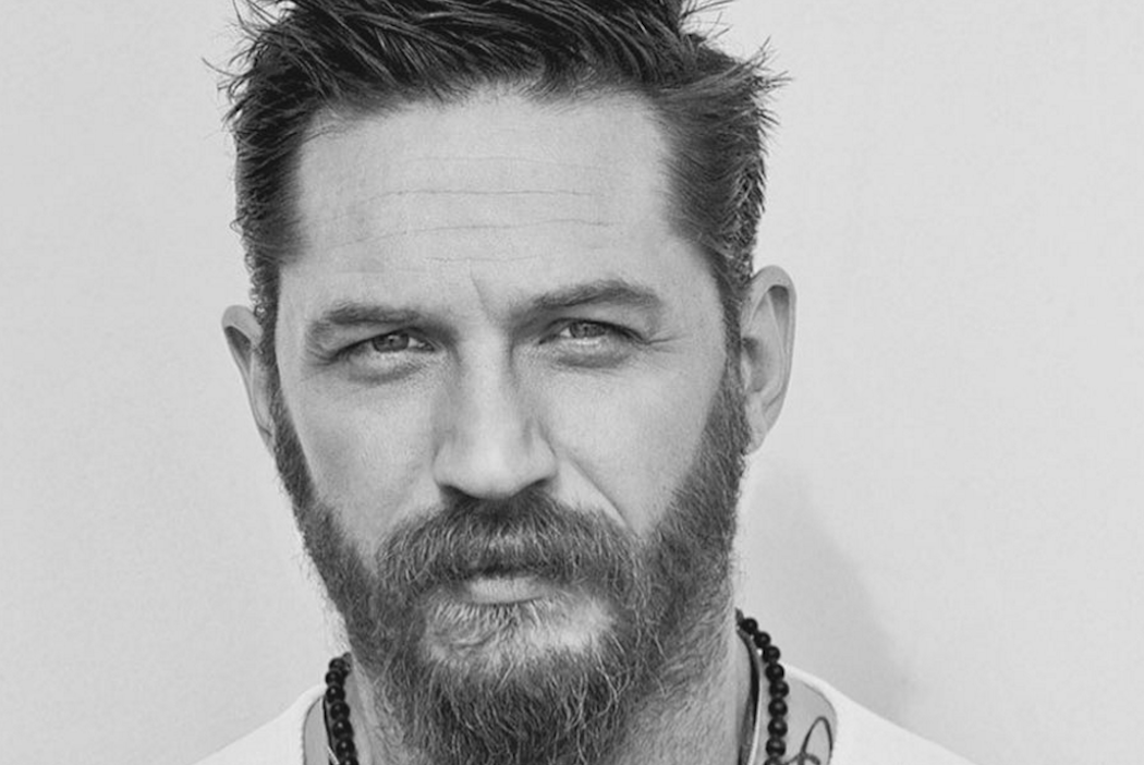 English Actor Tom Hardy's Suave Style