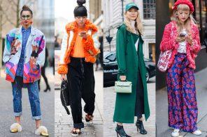 Best Street Style from London Fashion Week Autumn '17