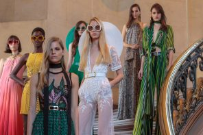 Elie Saab SS18 Collection at Paris Fashion Week '17