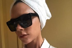 Trend Alert: Flat Top Visors (As Seen on Victoria Beckham)
