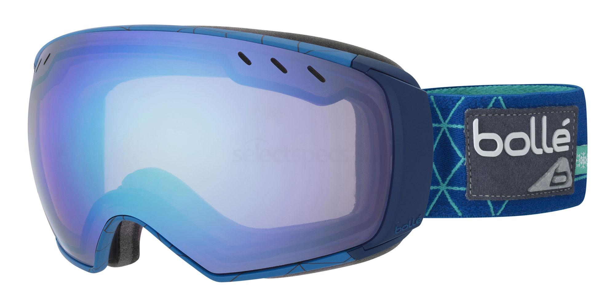 bolle virtuose ski goggles in blue