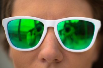 green sunglasses for st paddys day