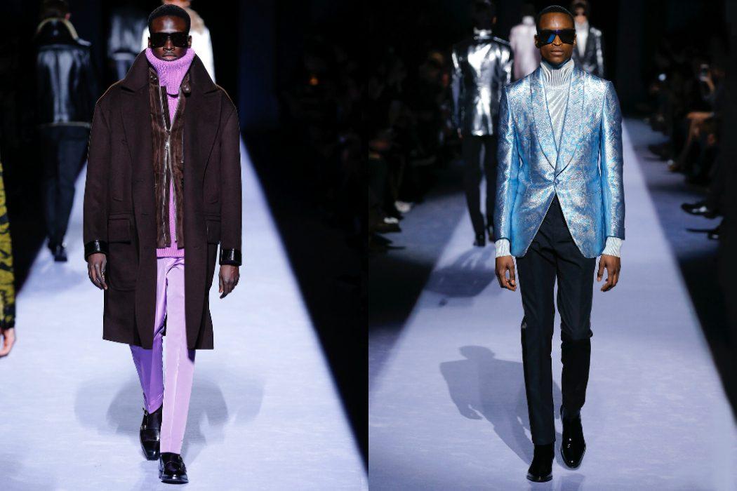 3b1dd67c50 Tom Ford AW18 at Men s New York Fashion Week