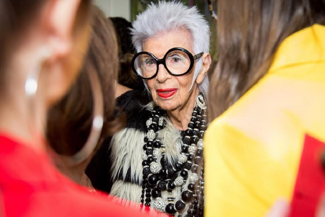 Instafamous Grannies with Amazing Eyewear iris apfel