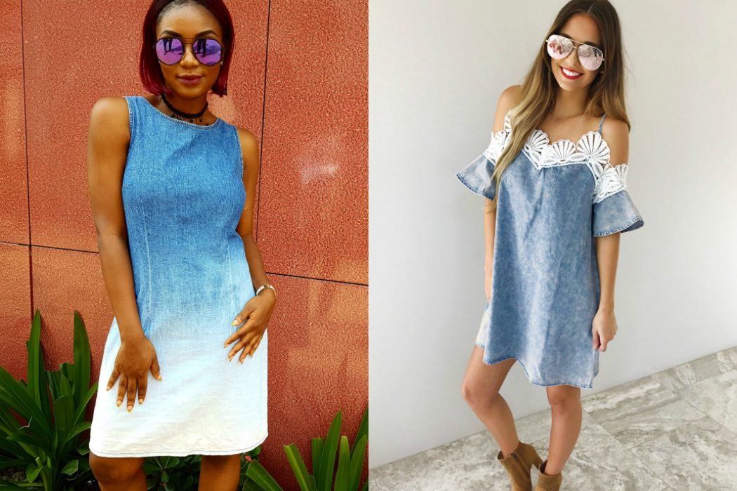 styling denim dresses