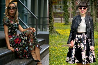 styling florals with sunglasses