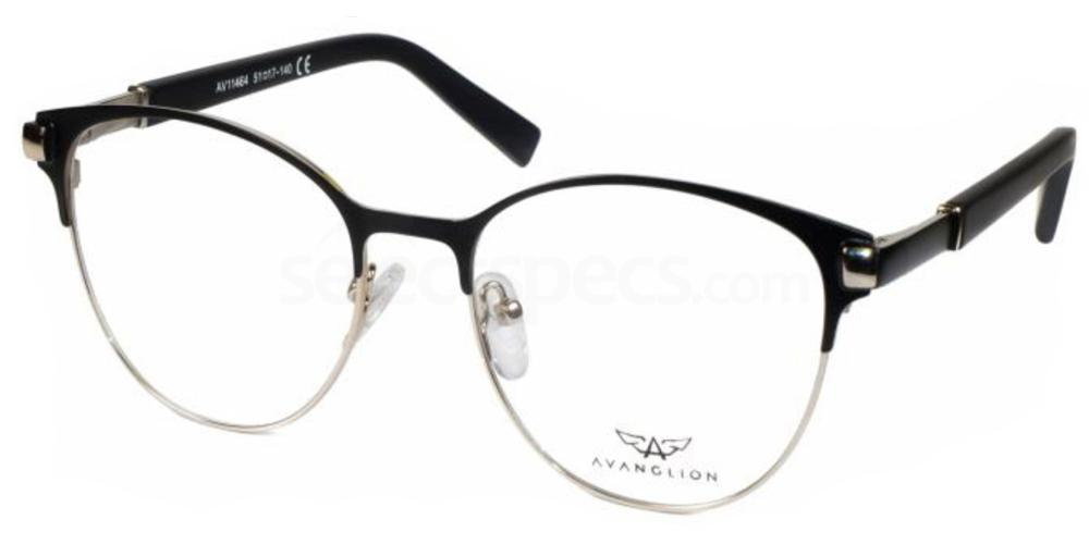 Avanglion half rim glasses