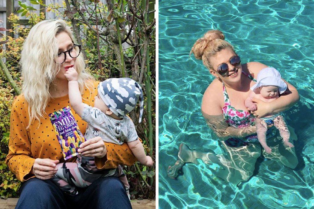 Mother_pukka and Louise Pentland