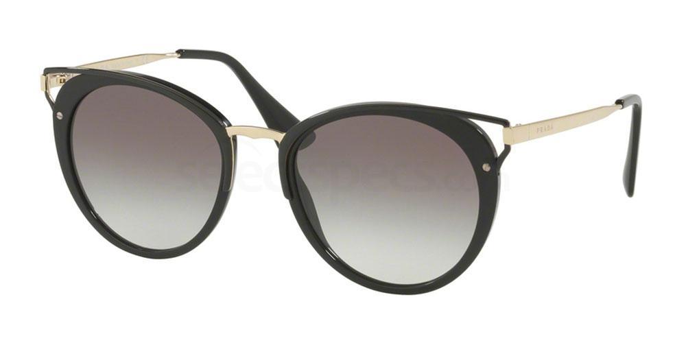 prada black and metal sunglasses prada PR 66TS