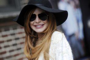 Celebrity Eyewear Style: Lindsay Lohan