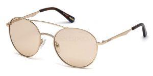 Chantelle Jeffries pink aviator sunglasses