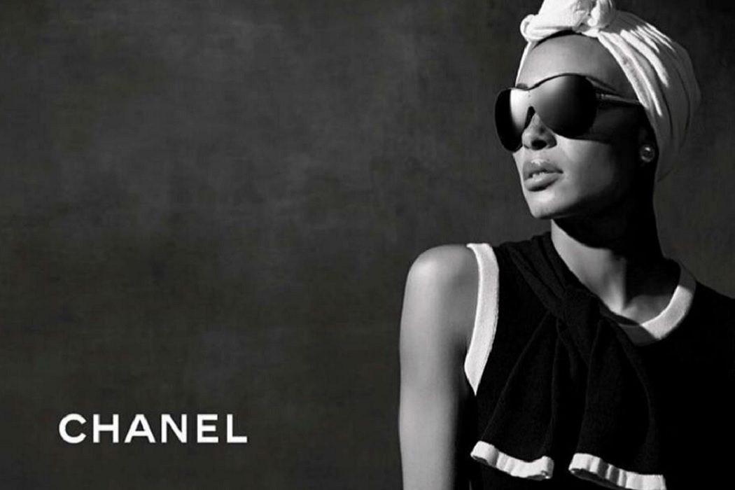 Adwoa Aboah Chanel Eyewear Campaign SS18