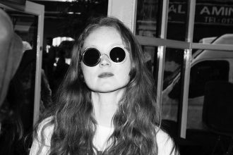 Lily Cole Sunglasses Style Eco Friendly Wires Glasses Launch