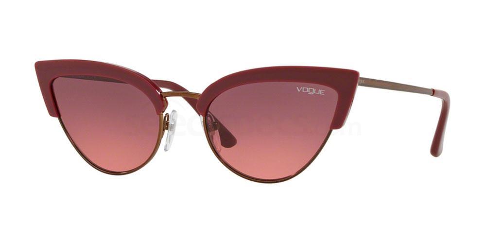 Cat eye Vogue pink sunglasses Camilla Cabello inspo