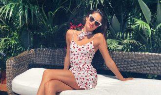 Sara Sampaio sunglasses