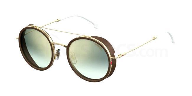 Futuristic oval sunglasses 2018 trend