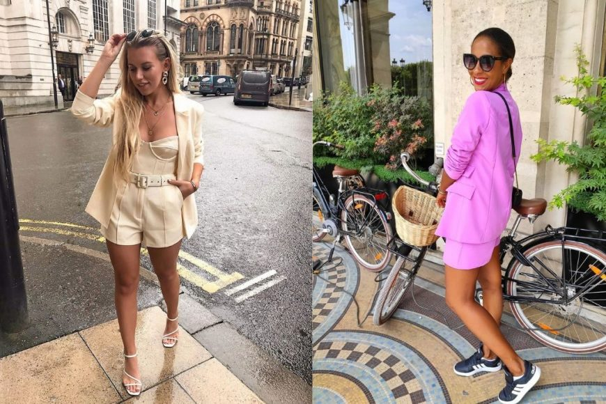 how to style short suits ss19