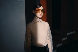 split lens sunglasses fendi