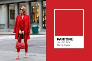 Colour Trend for Spring/Summer 2020: Flame Scarlet