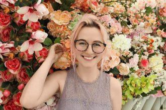 floral print glasses botanical glasses
