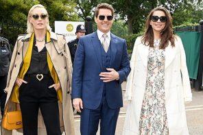 Wimbledon 2021: Best Dressed Celebrities